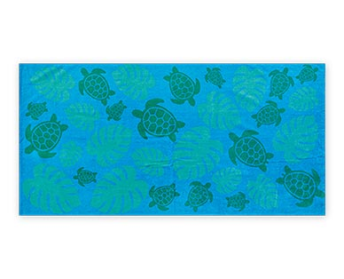 aldi turtle beach towel