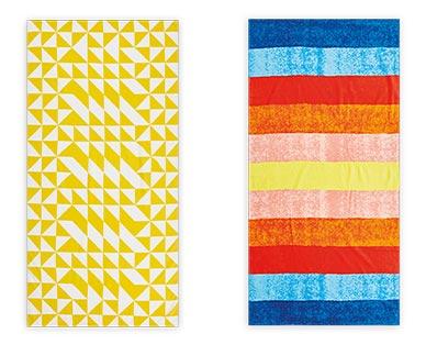 aldi summer beach towels
