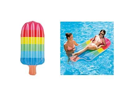 Aldi Rainbow Popsicle Float