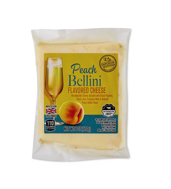 aldi peach bellini cheese