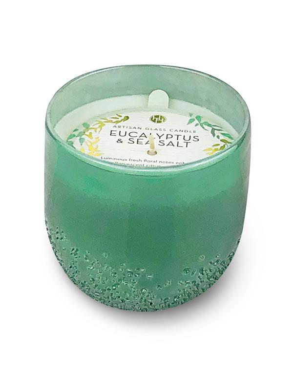 Aldi Eucalyptus & Sea Salt candle