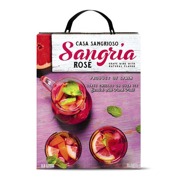 aldi rose sangria boxed wine