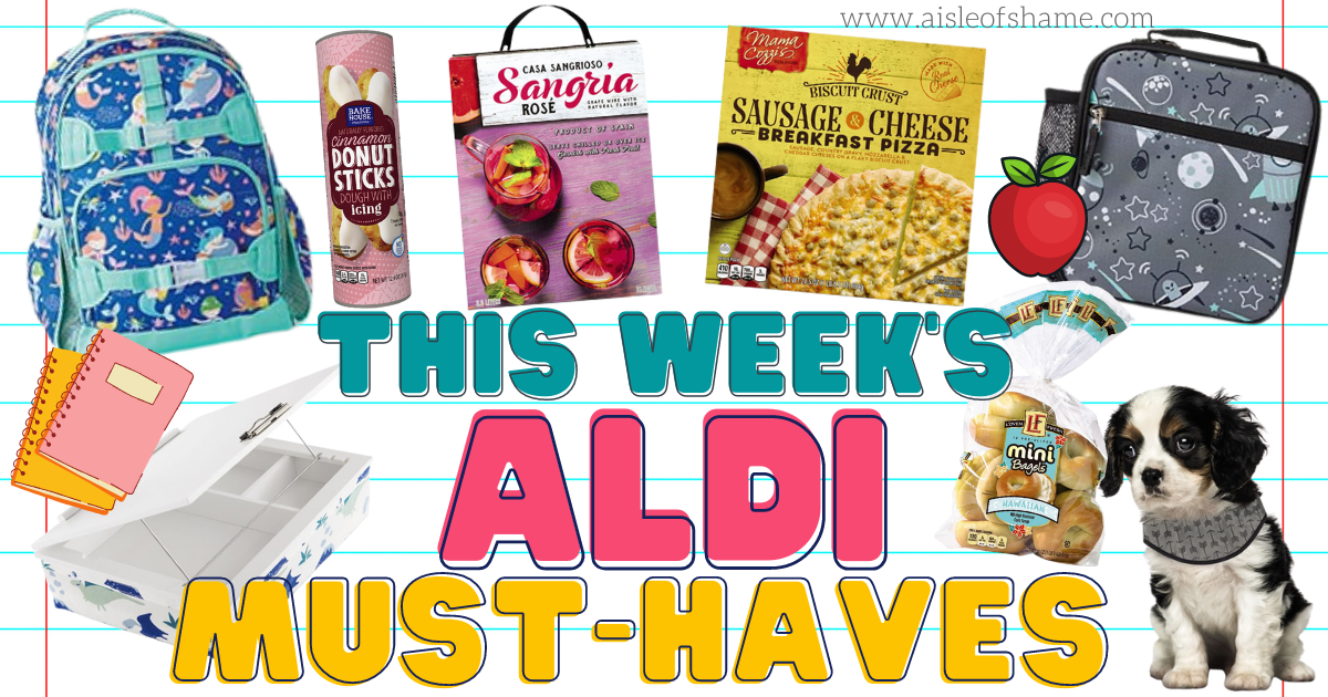 aldi must haves august 4th 2021