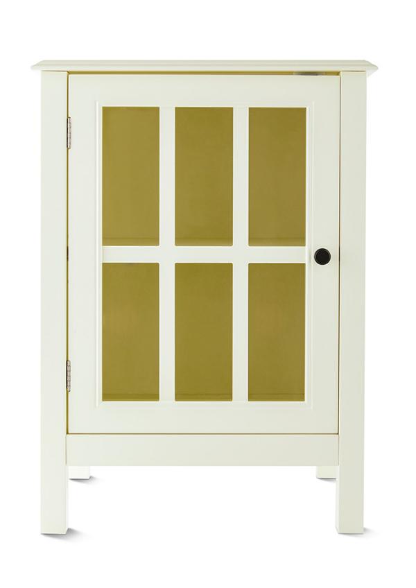 aldi white accent cabinet