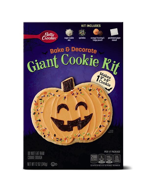 Betty Crocker Giant Pumpkin Cookie Kit