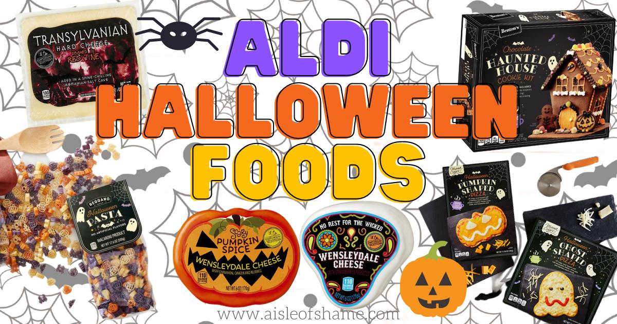 aldi halloween foods in October